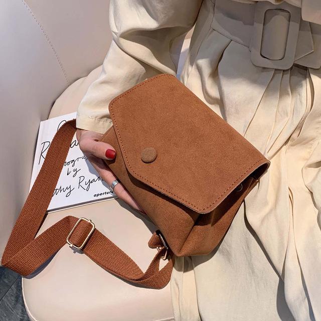 Vintage Fashion Female Square Bag 2019 New High Quality Matte PU Leather Women's Designer Handbag Small Shoulder Messenger Bag