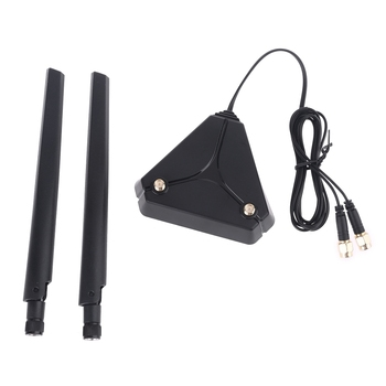 360 Degree Omnidirectional Antenna 2 High Gain Dual Band 2.4G+ 5G AC 6DB Antenna [vk] rcl 10 1 cb 12 cr 10 layer 10 knife 12 gear 360 degree band switch