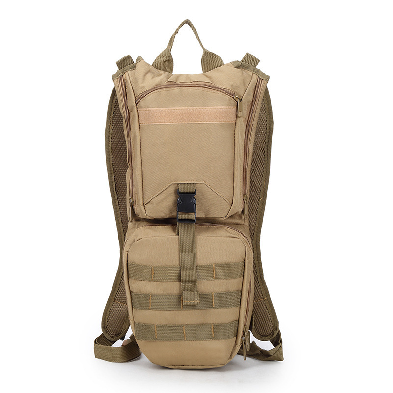 New Style Bicycle Riding Backpack Camouflage Outdoor Sports Water Bag Backpack Tactical Backpack Manufacturers Direct Selling