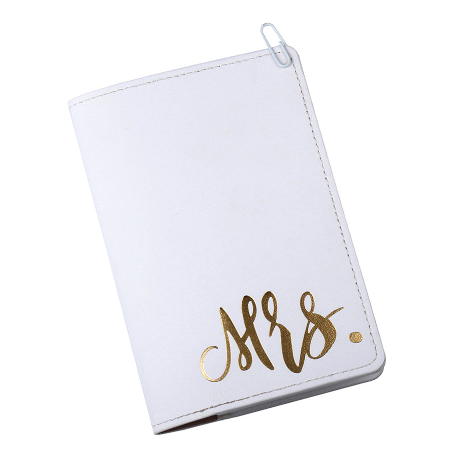 Mr Mrs Lovers Passport Cover for traveling Card Case Women Men Travel Credit Card Holder Travel ID Ticket Passport Holder CH12A