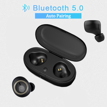 купить TWS Mini Wireless Bluetooth Earphone V5.0 Wireless Headphones HiFi Bass Earbuds Stereo Headset Bluetooth Ear Buds with Mic дешево