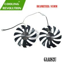 GFM10012H12SPA GAA8S2U 95 Mm Dc 12V 0.45A Vga Ventilator Voor Zotac GTX1070/1080 Amp Ed 8 Gb