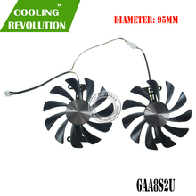 Ventilateur pour ZOTAC GTX1070/1080, 95mm DC 12V, 0,45 a, VGA, GAA8S2U, 8 go