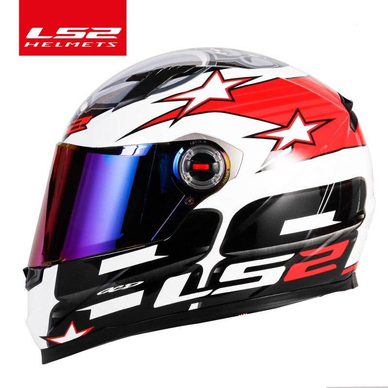 LS2 FF358 volle gesicht moto rcycle helm hohe qualität LS2 Brasilien flagge capacete casque moto helm ECE genehmigt keine pumpe