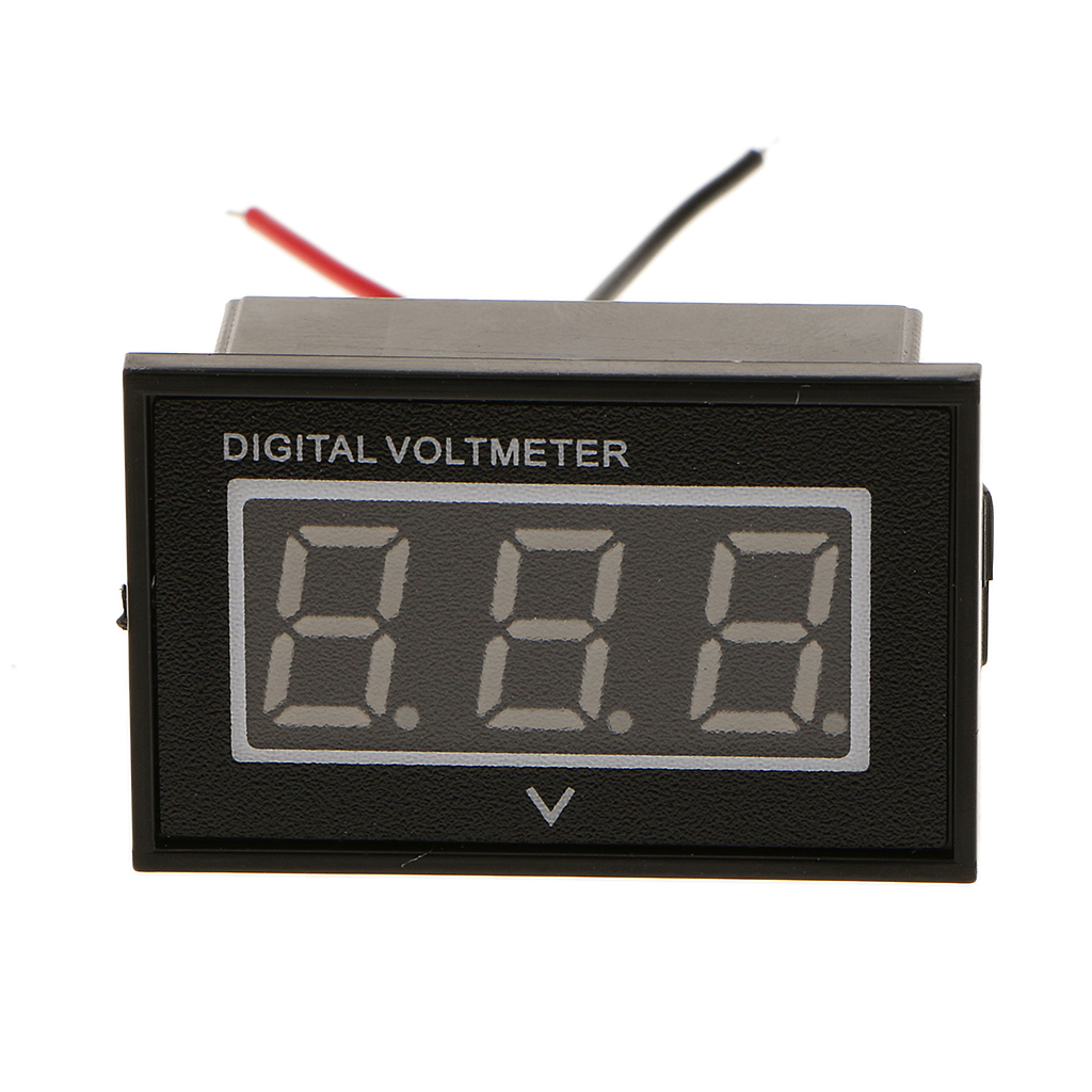 Waterproof 36 Volt Digital VoltMeter Indicator Meter Automative Electric Cars Gauge For EZGO Club Car Yamaha Golf Cart Blue