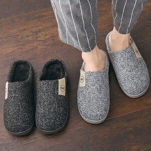 Fashion Women Slippers Winter Warm Fur Slides Men Ladies Boys Girls House Shoes Flat Heel Home Indoor Bedroom Zapatilla Mujer