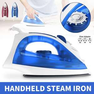 2000W Electric Steam Iron Cordless Charging Steam Iron 3 Speed Adjust Clothes Ironing Steamer ABS+Ceramic Soleplate EU Plug