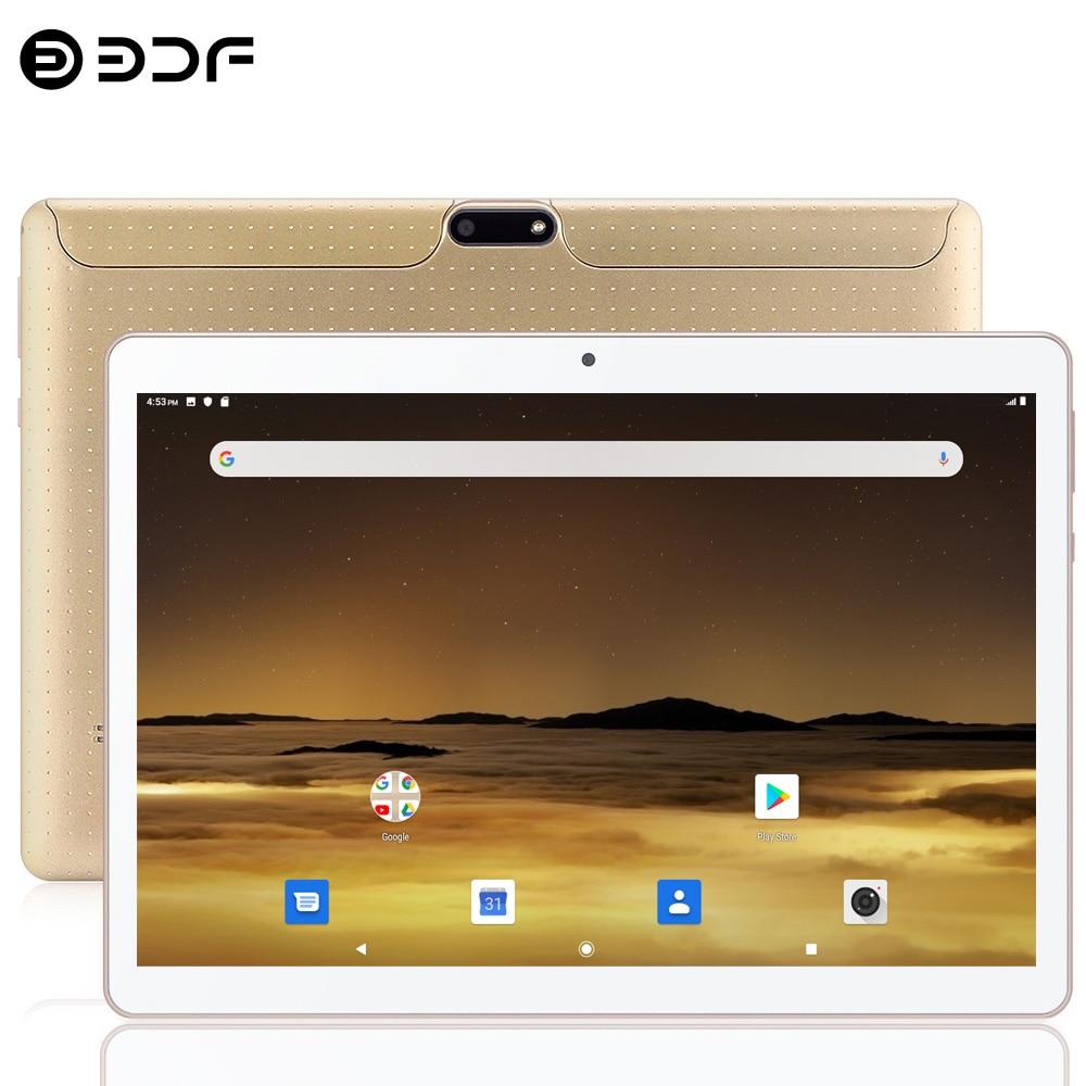 2021 New Original 10.1 Inch BDF Tablet Pc Android 9.0 Google Play 2GB RAM Quad Core 3G Phone Call WiFi Bluetooth Dual Cameras