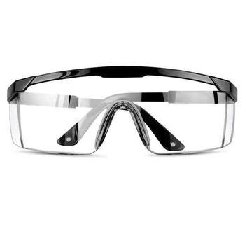 1Pc uniwersalne okulary ochronne gogle Anti-wind Sand Fog Shock odporne na kurz przezroczyste okulary oczu ochronne mężczyźni moda tanie i dobre opinie Jeden rozmiar Unisex Jasne Dust-Proof Glasses Safety Glasses Protective Gears ANTI-FOG Car accessories