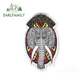 EARLFAMILY 13cm x 7.4cm For Street Plant Vallely Mammoth Wrap Sticker Vinyl Decal Sticker Car Truck Pinup Car Assessoires image