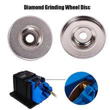 1 pièces 56mm18 0/360/600 diamant meule meule disque circulaire pour affûteuse électrique meuleuse outil de coupe livraison directe