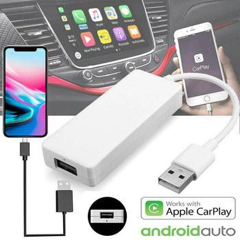 Carlinkit USB Smart enlace de coche Dongle para Android Auto/iPhone Carplay modo HD 1080 P/enviar función de mensaje