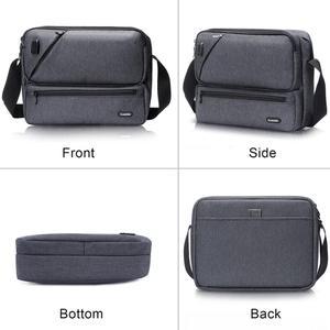Image 5 - ICozzier Multiuso/Multi Spazio Borsa con tracolla Accessori Elettronici Dellorganizzatore di Immagazzinaggio Sling Messenger Bag per iPad, Ombrello,