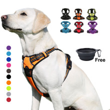Truelove Dog Harness Small Large Durable Reflective Pet Harness Dog Running Safety Lift Pulling Walking Harness For Dog Travel