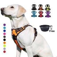 Truelove harnais pour chien, un grand harnais réfléchissant Durable, harnais pour chien, levage de sécurité, pour la course avec un chien