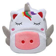 3D Toddler Backpack Soft Push Dinosaur Kids for Boys unicorn Bags Perschool Girls