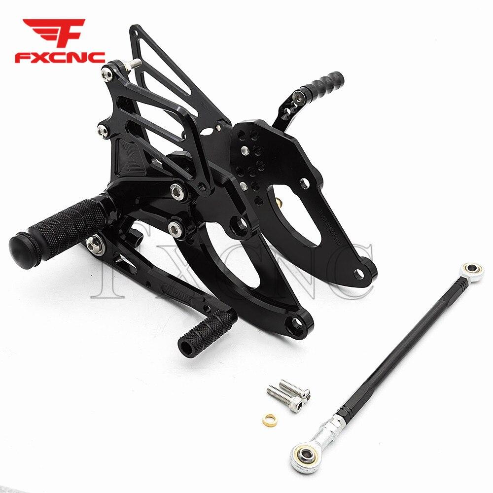 For Honda CBR250 2017-2018 CNC Aluminum Alloy Motorcycle Footrest Footpeg Pedal Foot Peg Rearset Rear Set