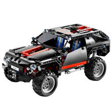New Technic Series super jeep SUV Off-road Racing Car Model kids toys building blocks Sets Bricks Educational Toys for Children lepin 23003 3643pcs technic moc rc jeep wild off road vehicles set educational building blocks brick toy for children model gift