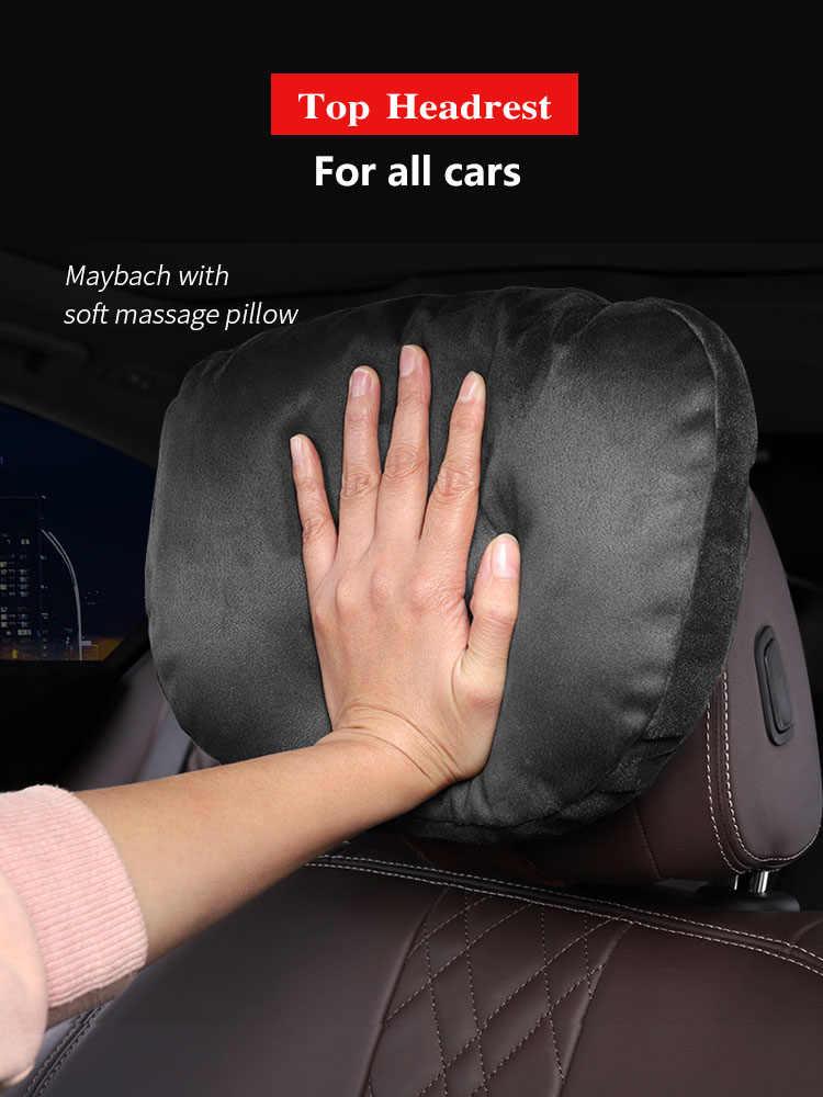 최고 품질의 자동차 머리 받침 목 지원 좌석/Maybach 디자인 S 클래스 소프트 유니버설 조정 가능한 자동차 베개 목 휴식 쿠션