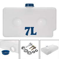 Universal 7L 2 Hole Plastic Fuel Oil Gasoline Tank Air Heater Diesel Car Caravan Motorhome Parking Heater Tool