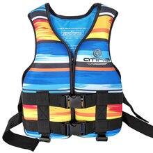 Открытый рафтинг неопреновый спасательный жилет для детей и