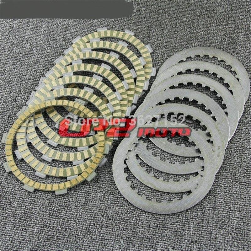 Clutch Plates Discs For Honda CRM250 ARV ARW MD32 97-98 CRM250R MK3 MD24 94-96 NSR250R MC16/18 R7L R7N MC21 NSR250 RR MC28