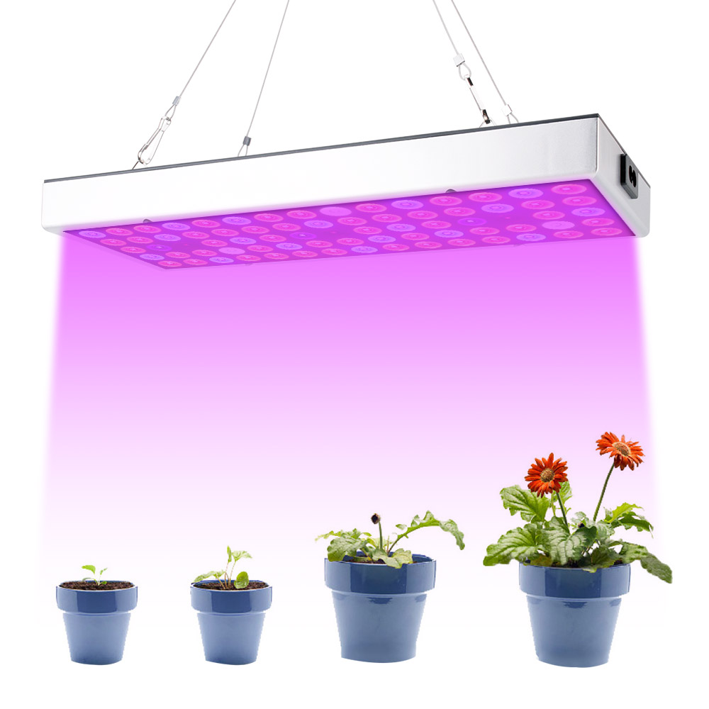 BORUiT 25W AC85-265V Growing Lamps 75pcs 2835 LED Full Spectrum Plant Lighting Fitolampy For Plants Flowers Seedling Cultivation