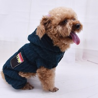 Cotton Dog Pet Dog Autumn Winter Warm Clothes Pet Dog Cat Coat Puppy Jacket Dog Costume Sweatshirt Cat Clothes Pet Supplies 1,