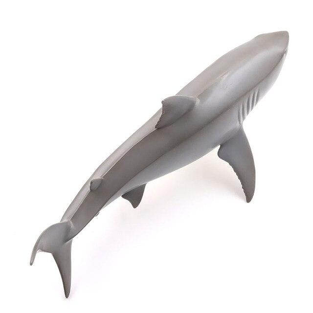 Realistyczne Baby Shark zabawka dla kota interaktywne prezenty miękki w dotyku anty stres wycisnąć wielki rekin kolekcja zabawka dla dziecka prezent