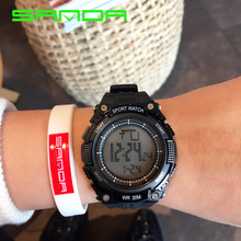 Outdoor Sport Watch Men Waterproof Wristwatch Running Shockproof Mountain Climbing Reloj Freezeproof Digital Montre Homme