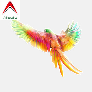 Aliauto Cool Car Stickers Flight Parrot Accessories Vinyl Decal for Chevrolet Opel Peugeot Hyundai I40 Bmw E92,13cm*11cm image