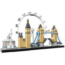 лучшая цена Architecture Toys Architecture:London Compatible Legoingly Architecture City 21034 Building Blocks for Children Christmas Gift