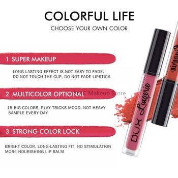New 15 Colors Lipstick Lip Lingerie Matte Liquid Lipstick Waterproof Lip Gloss Long Lasting Lipstick Makeup Maquillage Batom