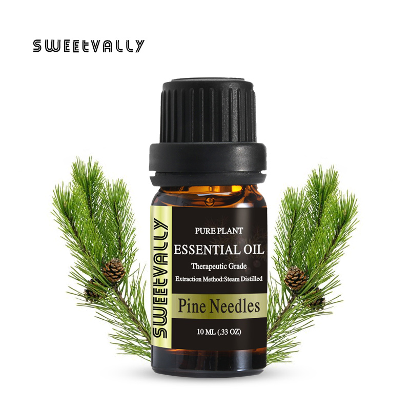 Brand New 10ml Pine Needles Essential Oil Relieve Stress for Humidifier Fragrance Lamp Air Freshening Aromatherapy image