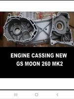 left crankcase cover fit for GS MOON 260 MK2/GSMOON 260ATV/BUGGY