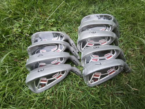 G15 Golf Irons Club Heads  Golf Clubs Iron Set 3-9Pg Steel Graphite Shaft Driver Wedge Rescue Putter Free Shipping