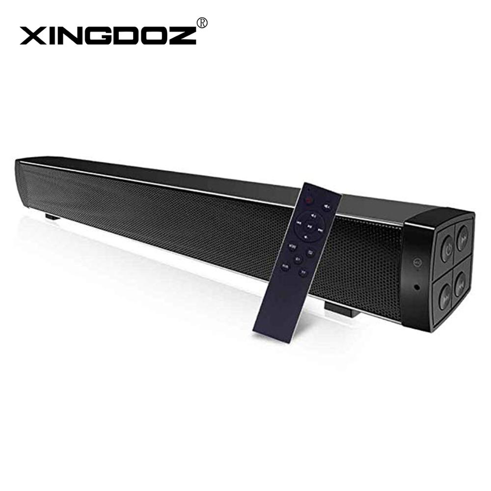 Bluetooth soundbar speakers computer wired and wireless bluetooth speakers Home Theater TV sound bar with Remote Control(China)