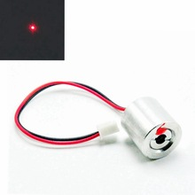 Mini 650nm 660nm 100mW 2.5V Red Dot Laser Diode Module w/ Cable