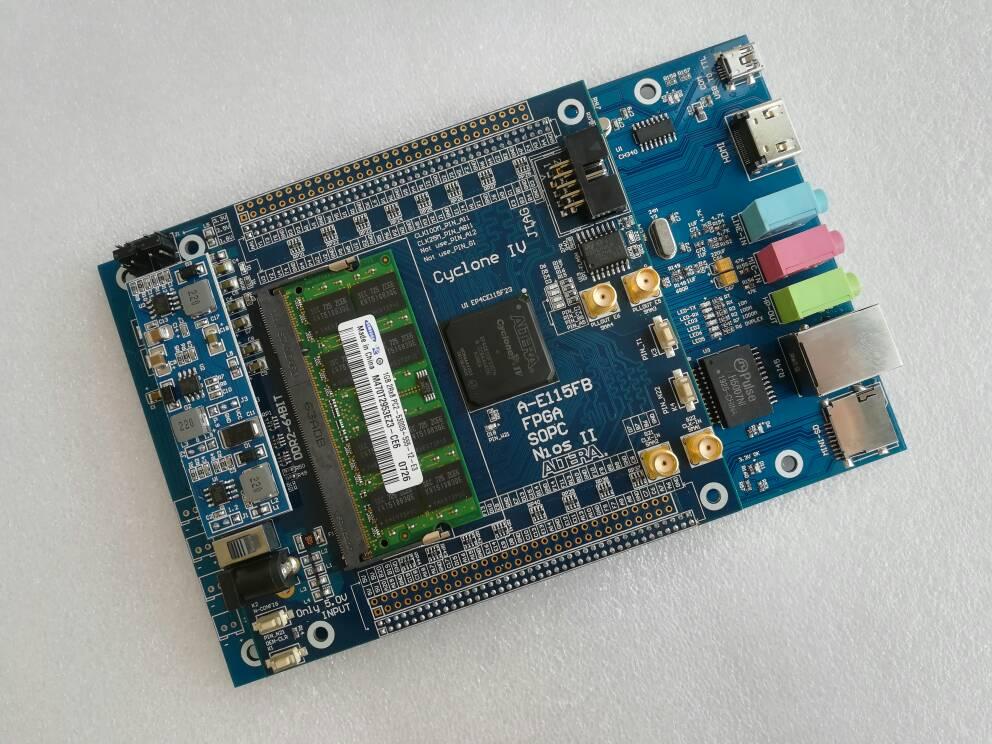 USB Blaster Cyclone IV EP4CE115F23I7N Fpga Development Board Fpga Altera Fpga Board+88E1111 RJ45+HDMI+SDcard Altera Board