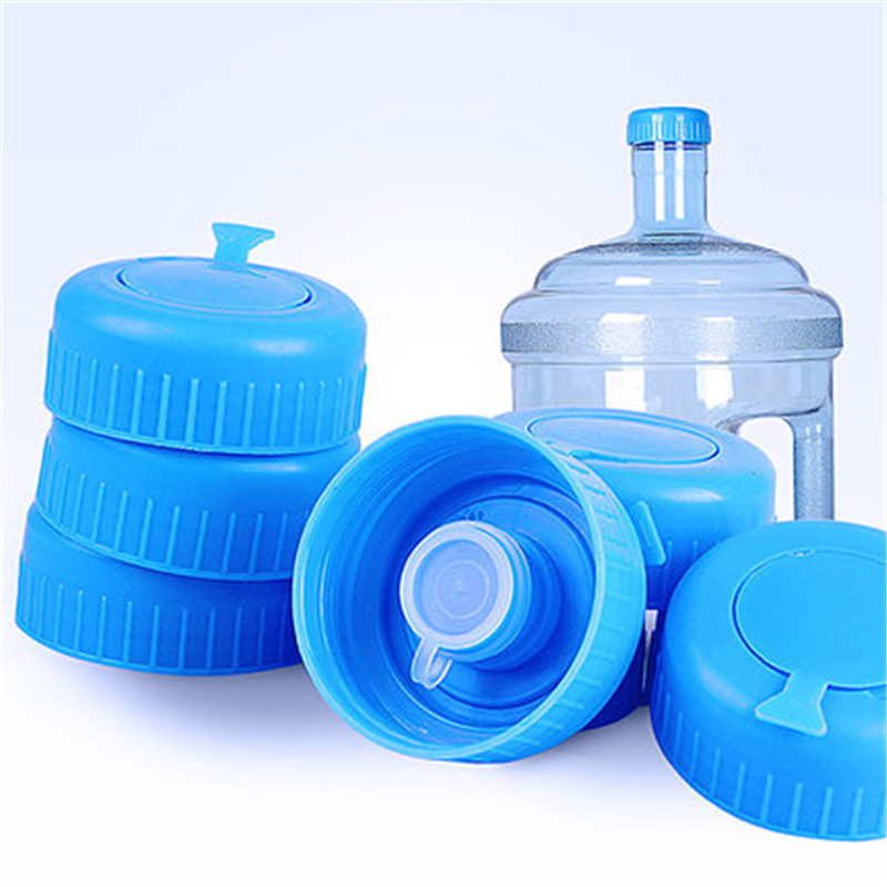 3Pcs Plastic Water Bottle Caps Covers Screw Lids Seal Reusable Leakproof 60mm