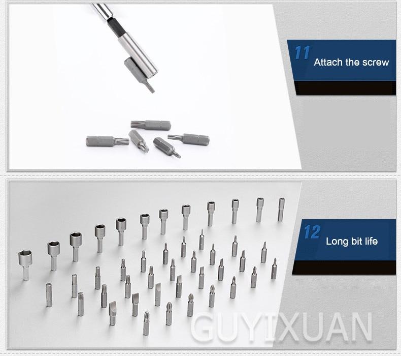 bit chave de fenda manga conjunto combinação