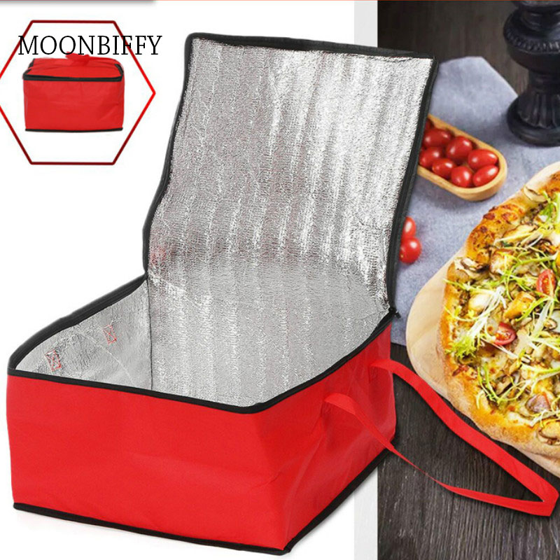 Waterproof Insulated Bag Cooler Bag Insulation Folding Picnic Portable Ice Pack Food Thermal Bag Food Delivery Bag Pizza Bag