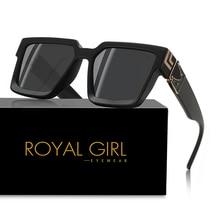 ROYAL GIRL 2020 New Square Fashion Sunglasses Brand Designer