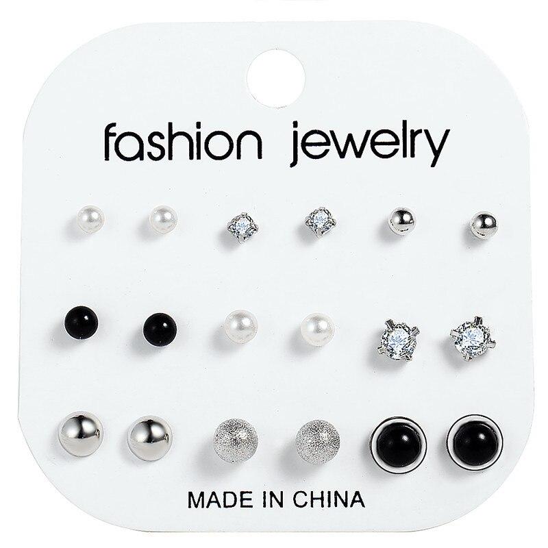 17 км акриловые серьги с кисточками для женщин, богемные серьги, набор больших геометрических висячих сережек Brincos, Женские Ювелирные изделия DIY - Окраска металла: Earrings Set 13
