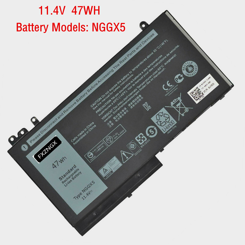 47Wh New NGGX5 <font><b>Battery</b></font> For <font><b>Dell</b></font> E5250 <font><b>E5470</b></font> E5270 E5570 JY8D6 954DF 0RDRH9 0JY8D6 image