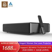 Proyector láser Youpin Fengmi Wemax One, dispositivo de cine en casa inteligente, 3D, ultracorto, 150 P, FHD, TV, 1080 pulgadas, Xiaomi MIUI TV