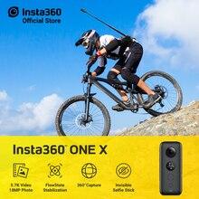 Insta360 ONE X 스포츠 액션 카메라 5.7K 비디오 카메라 (iPhone 및 Android 용)