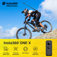 лучшая цена Insta360 ONE X Sports Action Camera 5.7K Video camera For iPhone and Android