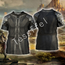 Tessffel knight New Fashion Harajuku casual cavalier Christian 3D Printed shirts cute awesome Mens Womens hiphop funny style-7