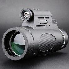 Профессиональный 12x50 монокулярный телескоп Военный HD ночное видение Открытый Охота Clmbing наблюдение за птицами водонепроницаемые уличные инструменты